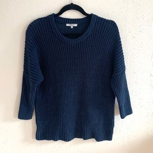 Madewell Shaker Chunky Pullover Sweater